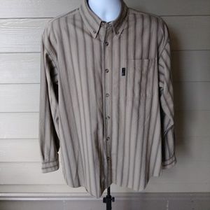 Columbia long sleeve striped shirt